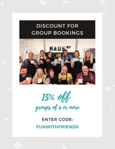 discount for group bookings