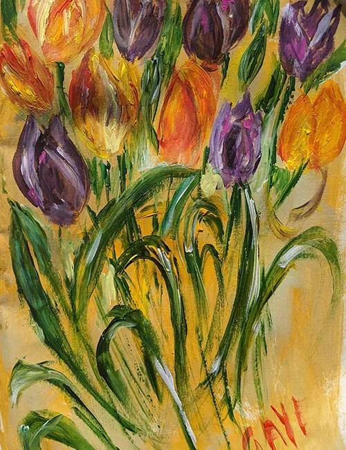 Caversham Reading Berkshire flower painting workshop