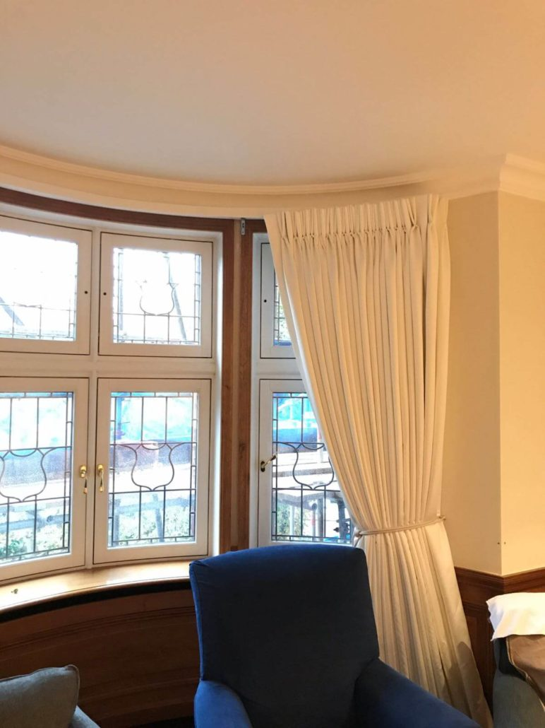 Curtain For Bay Windows Ideas Inspiration Made Curtains