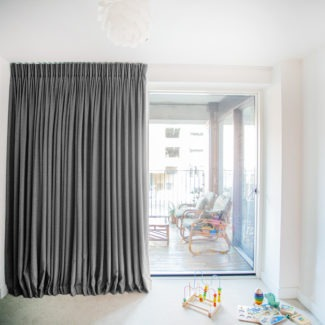 home made curtains london