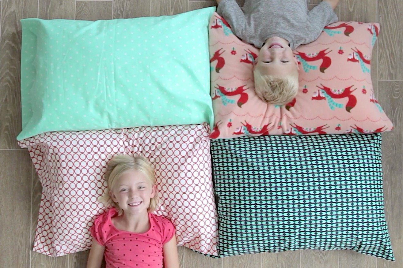 sew a pillowcase 2 ways 1 yard