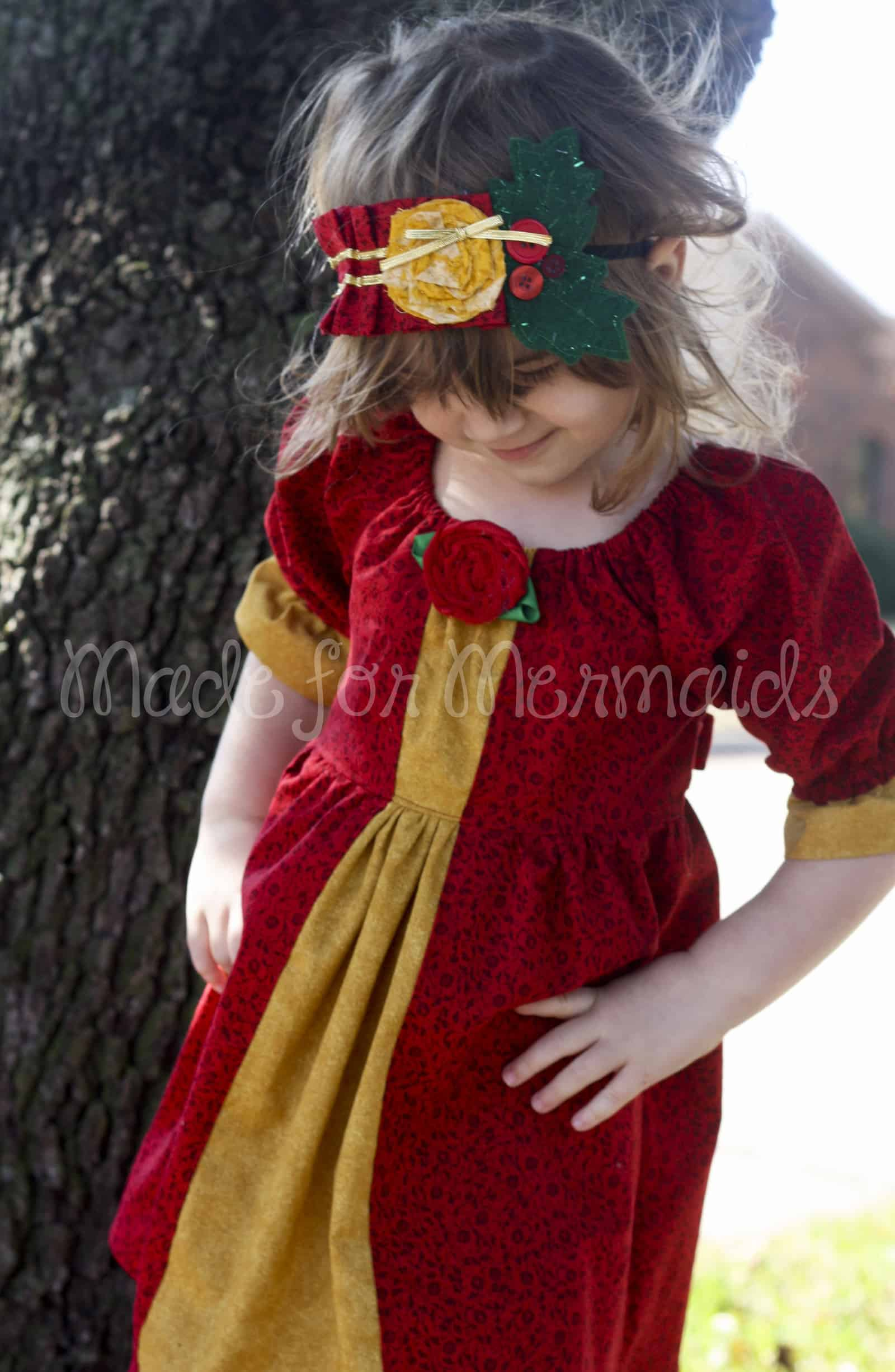 Christmas Belle Dress ⋆ Made for Mermaids