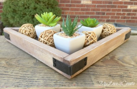 Decorative-Triangle-Tray-Planter