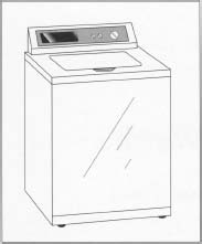 "Although at present most home washing machines in the United States are top-loading, these will likely be gradually displaced by front-load washers. Because they require less water, front-load washers satisfy government restrictions on water use. Also, in Japan a washer is being tested that cleans with bubbles rather than with an agitator. Using a computer, this machine ""senses"" how soiled each load of clothing is and then generates the bubble acfivity necessary to remove that amount of dirt."