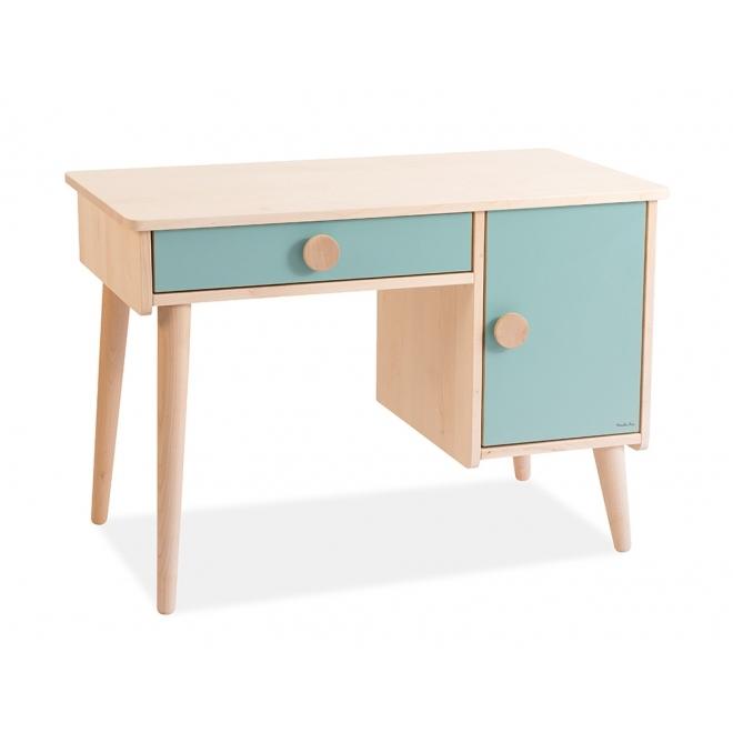 bureau enfant bois massif jade