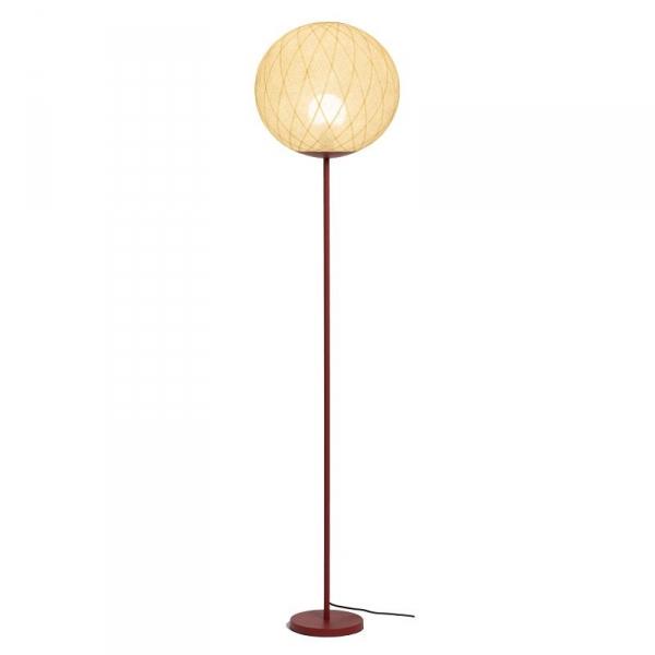 lampadaire art deco ivoire
