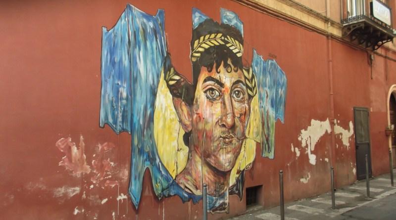 Anche A Pompei Un Murales Firmato Dallo Street Artist Carlos Atoche Made In Pompei