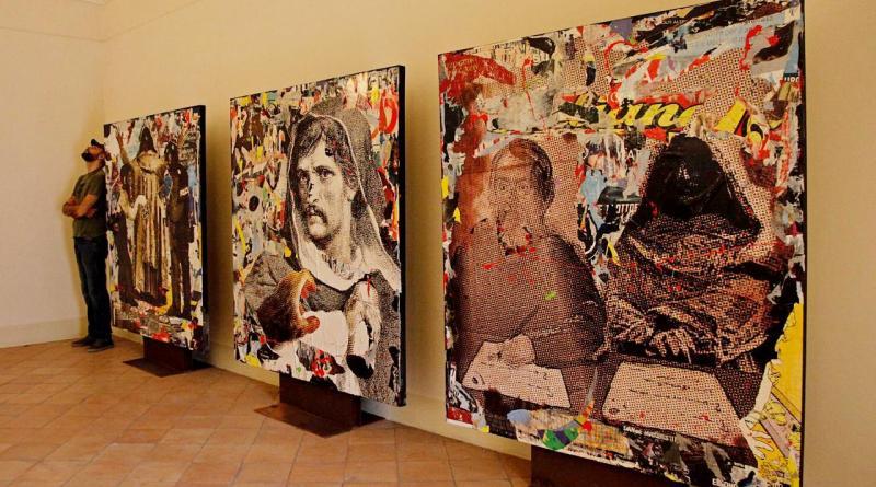 Il Canto di Circe è il nuovo trittico di Nello Petrucci che celebra Giordano Bruno