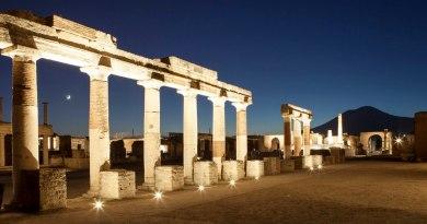 Giornate Europee del Patrimonio 2020, visite serali a Pompei e nei siti vesuviani