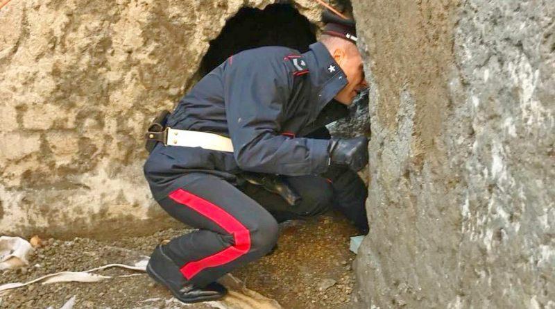Pompei, lo scavo di Civita Giuliana: simbolo della guerra dello Stato ai trafficanti di oggetti antichi