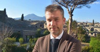 Pompei, primo giorno ufficiale da direttore generale per Gabriel Zuchtriegel