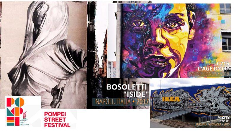 I grandi nomi della street art mondiale attesi alla prima edizione di Pompei Street Festival