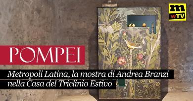 VIDEO – Metropoli Latina, la mostra di Andrea Branzi nella Casa del Triclinio Estivo di Pompei