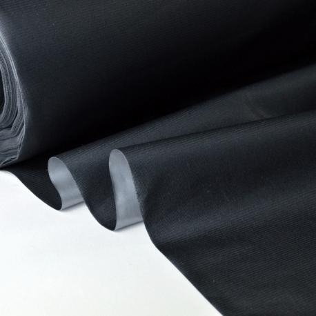 tissu isolant et occultant thermique phonique noir made in tissus