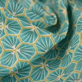 tissu coton riad enduit coloris lagon oeko tex tissu coton riad enduit coloris lagon oeko tex