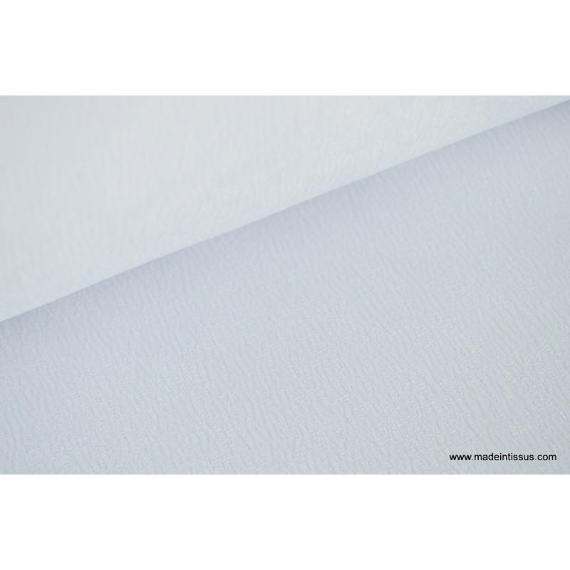 tissu grande largeur anti taches blanc