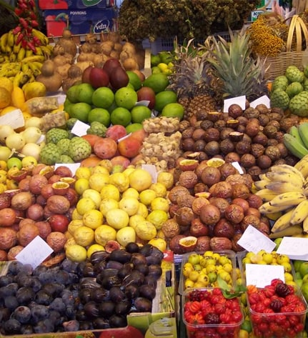 Traditional Fruits of Madeira