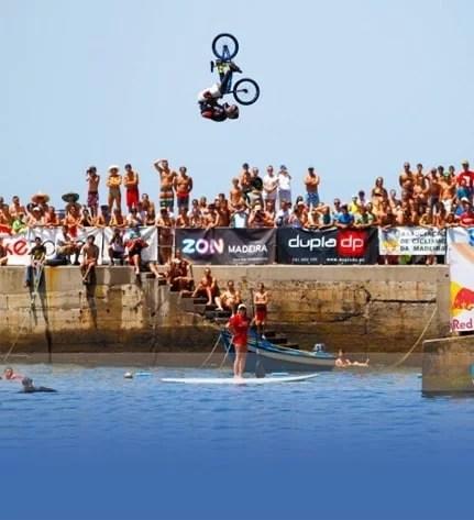 Madeira Summer Water Jump