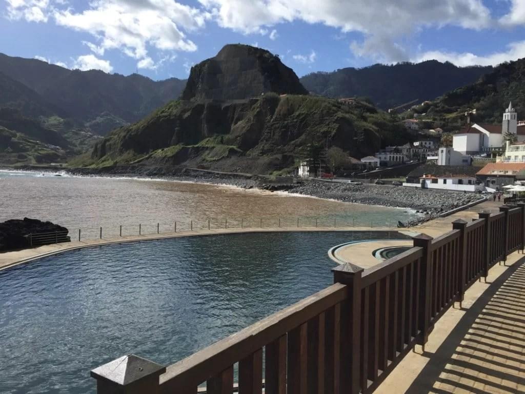 Porto da Cruz in Madeira Island
