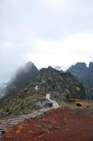 Die Bergwelt auf der Insel Madeira