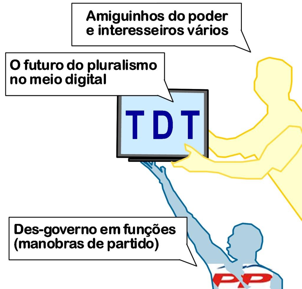 O futuro da TDT, na mão... dos amiguinhos