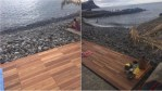 New Decking at Reis Magos