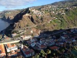 Collapse of land closes road to Ribeira Brava