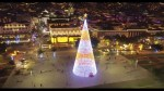 Christmas lights start going up in Funchal