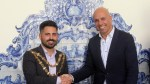 PAULO CAFÔFO WELCOMES THE FIRST PORTUGUESE MAYOR OF THE UNITED KINGDOM