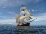 Tall Ship Jean de la Lune Sinks