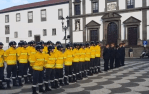 Video of the beginning of the celebrations of 25th April outside the Camera of Funchal
