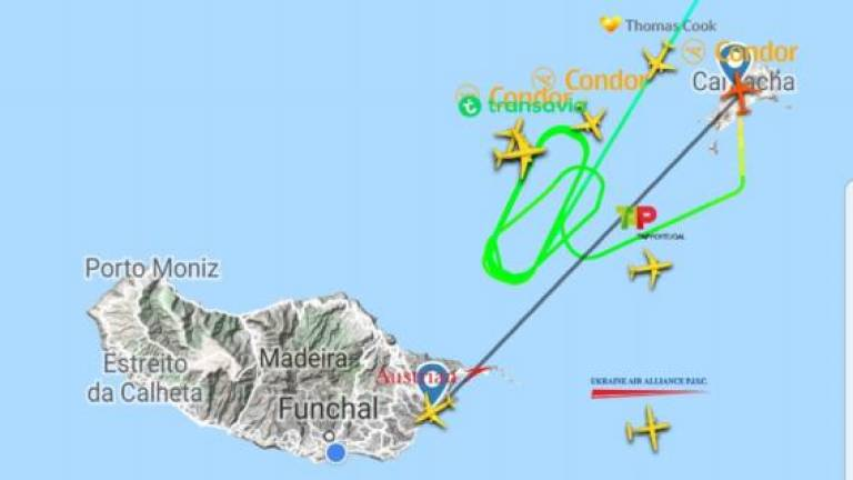 Wind has already diverted four planes from Madeira Airport