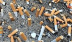 Stronger Fines for those who throw Cigarette butts to the ground