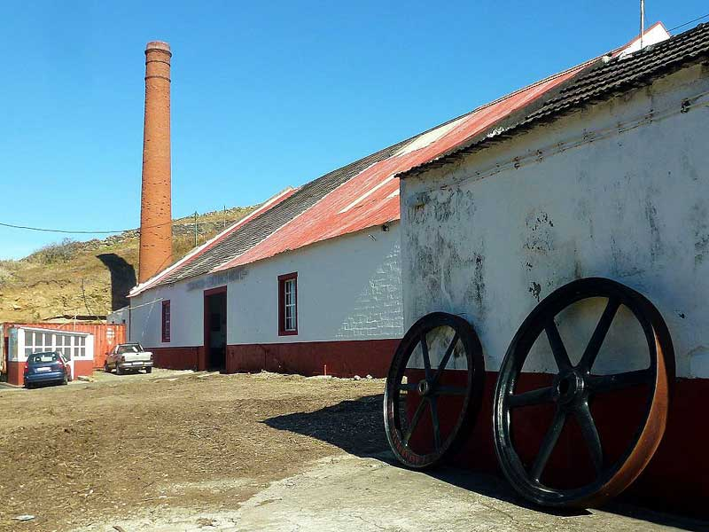 old rum factory in porto da cruz
