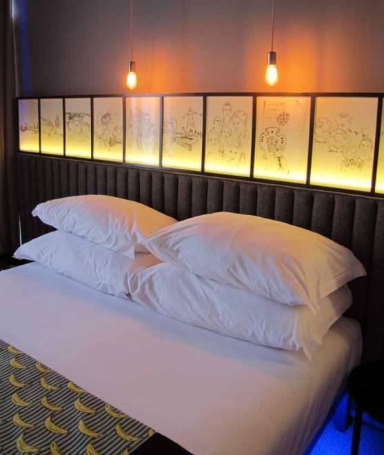 pestana hotel room bed