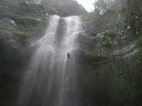 canyoning madeira waterval