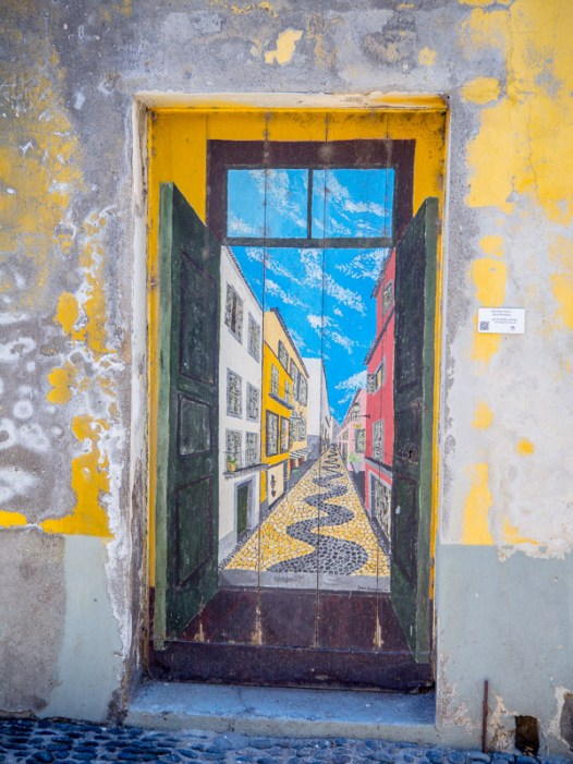 Painted Doors Project Funchal