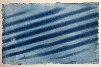 cyanotype fence