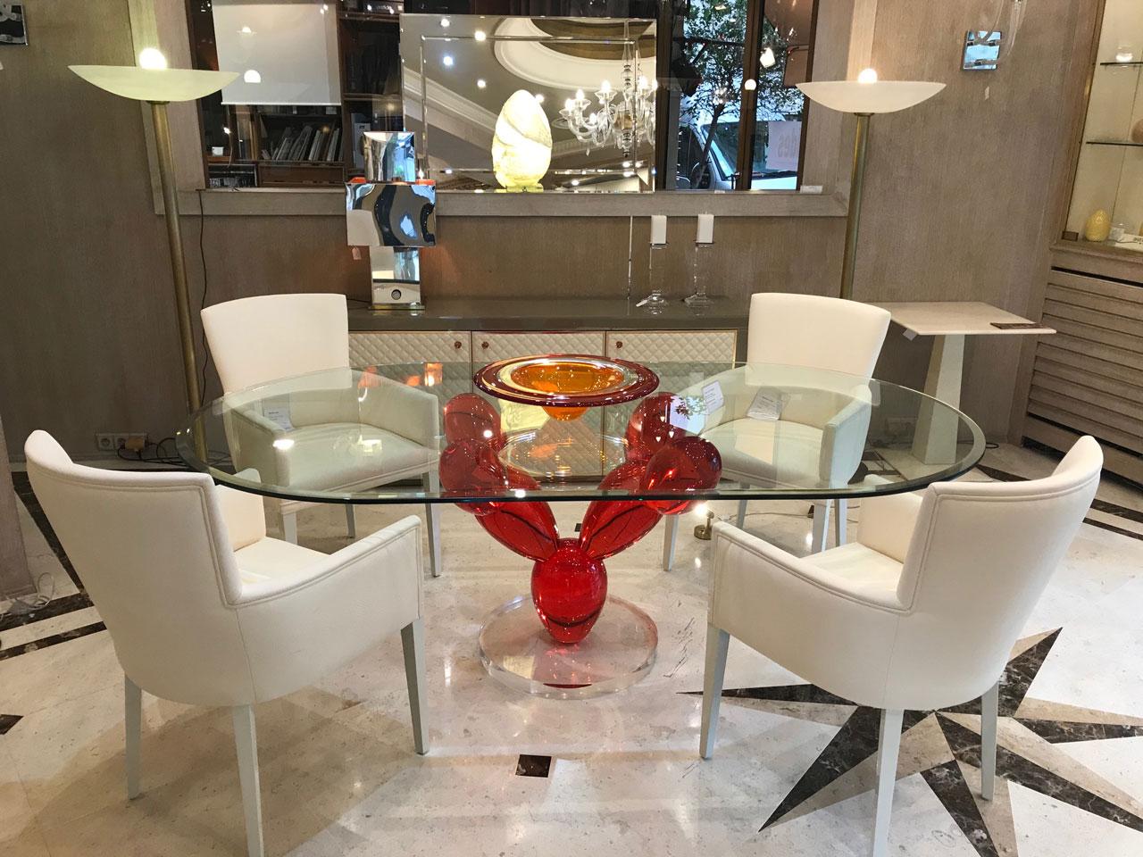 table haute table de repas de luxe