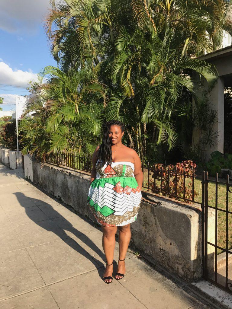 Marina Paulina, Havana, African print, travel