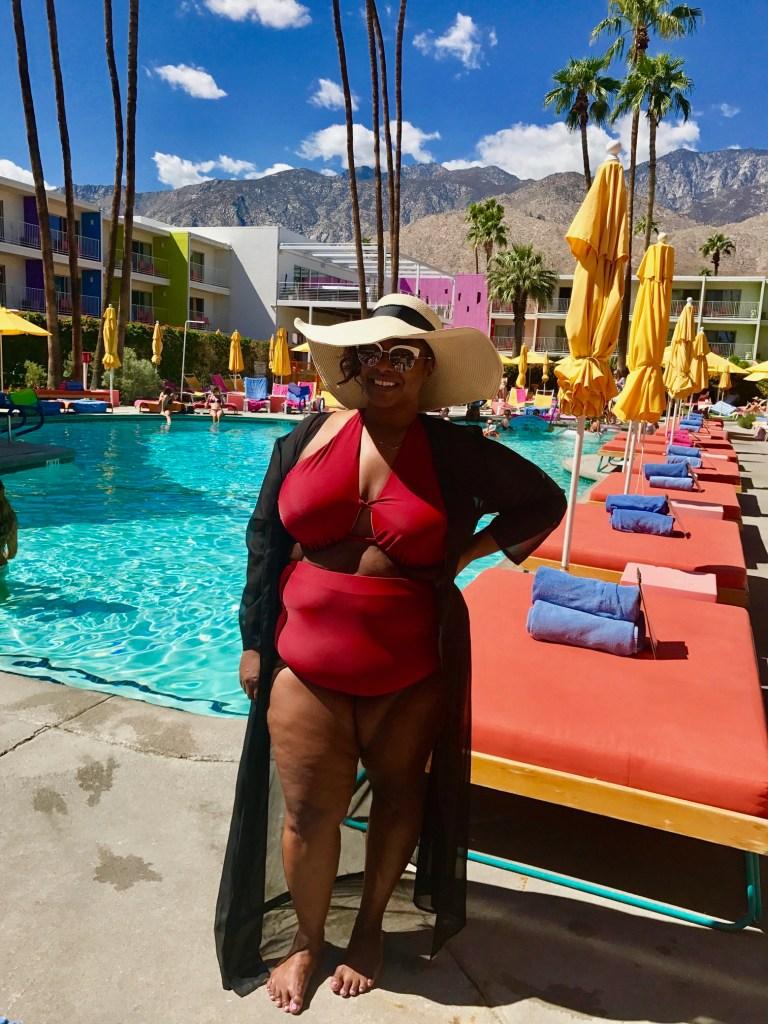 Lane Bryant, plus size swim, sexy plus size, Palm Springs