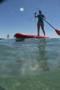 Paddle - Moi en action