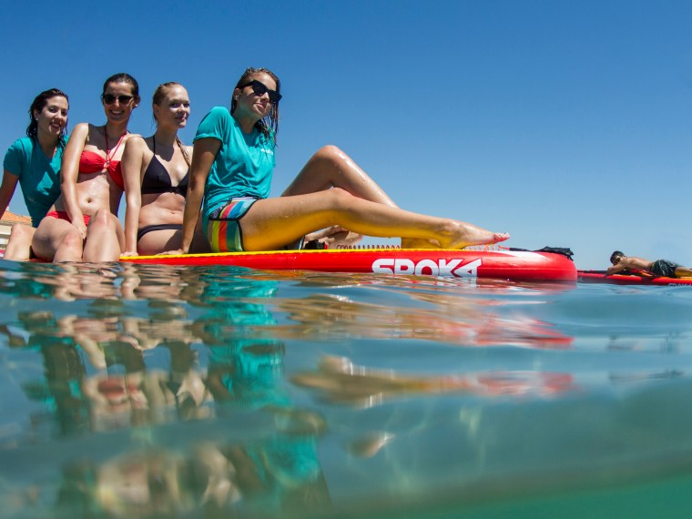 Paddle - photo de groupe