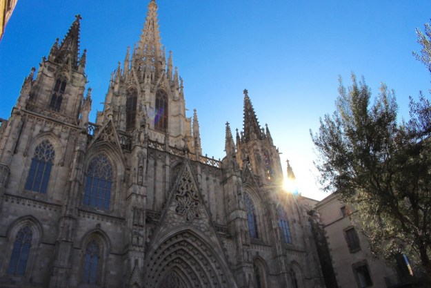 Barcelone - cathédrale