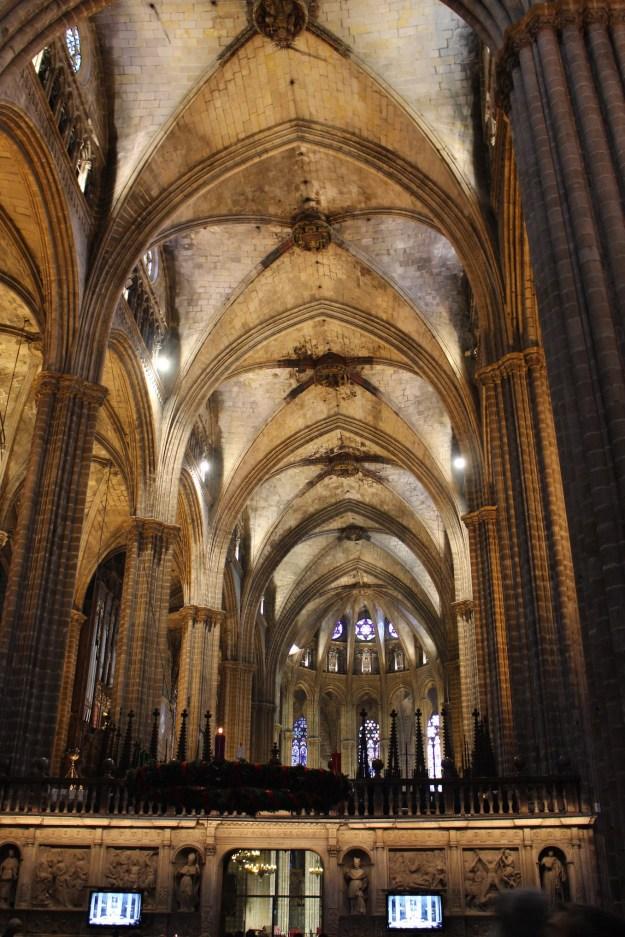 Barcelone - intérieur cathédrale