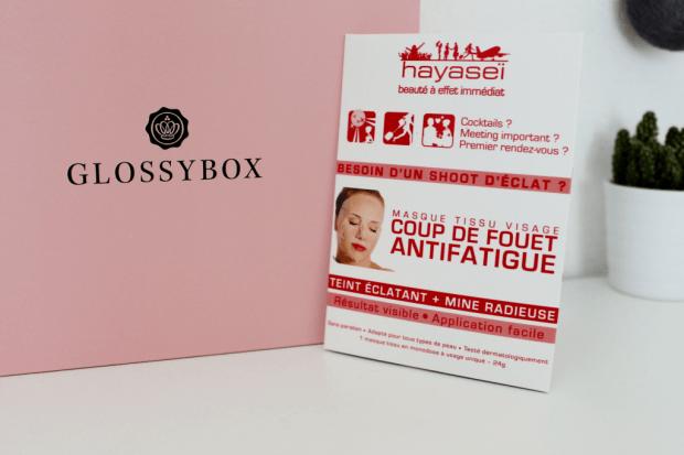 glossybox de mars masque_mademoiselle-e
