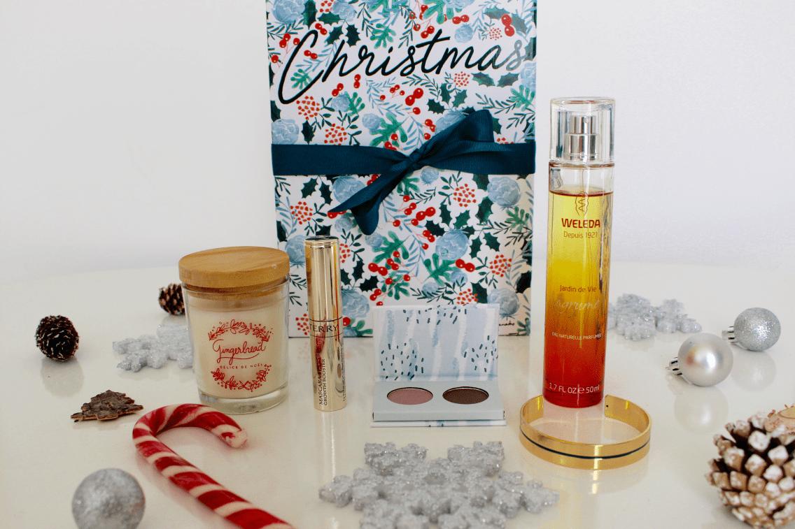 christmas box contenu Mademoiselle e