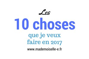 2017 présentation mademoiselle e