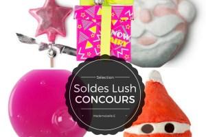 Soldes Lush presentation mademoiselle E