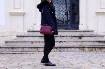 duffle coat look 1 mademoiselle E